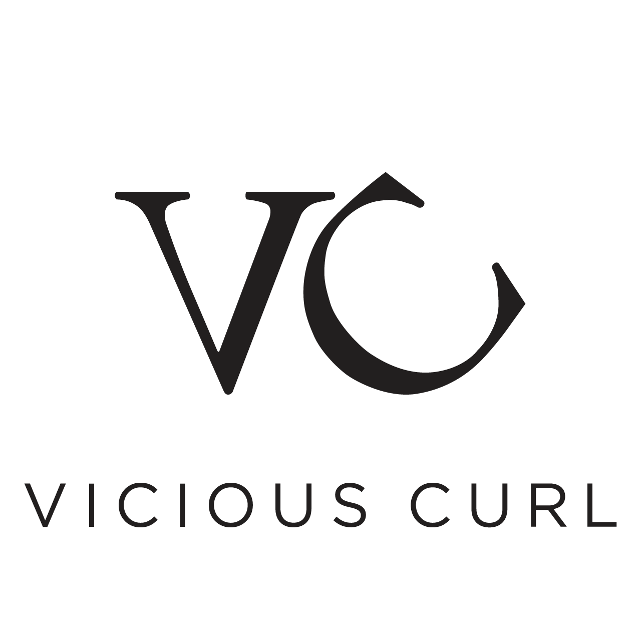 Vicious Curl Logo