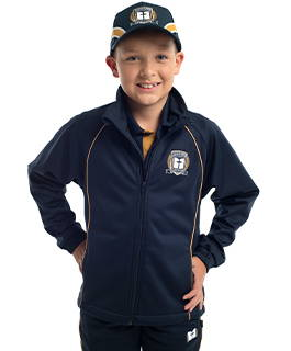 Valour Sport custom softshell jacket and fleece tack pants for Toongabbie Christian College