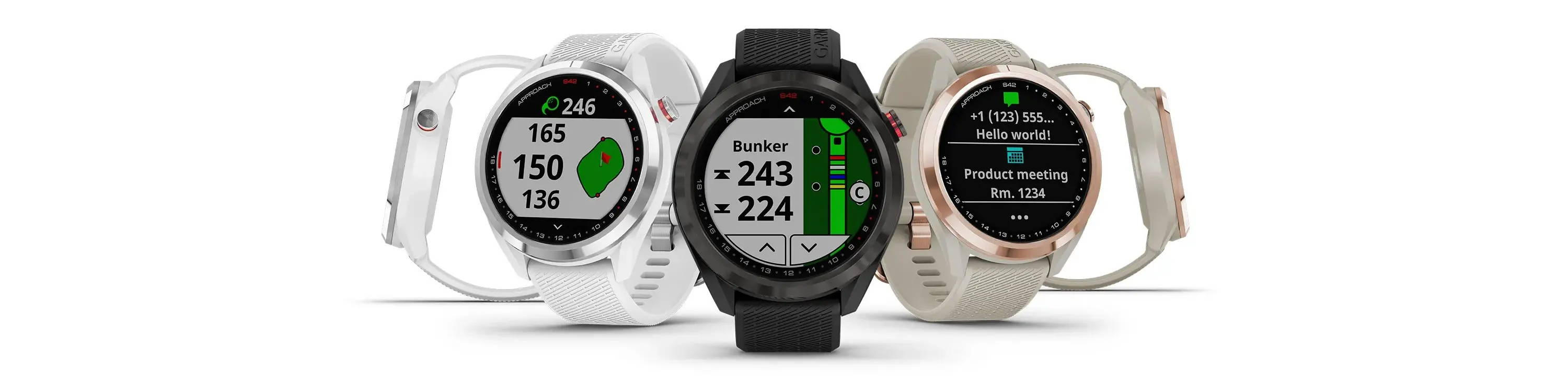 The Garmin Approach line of GPS golf watches for the 2021 season.
