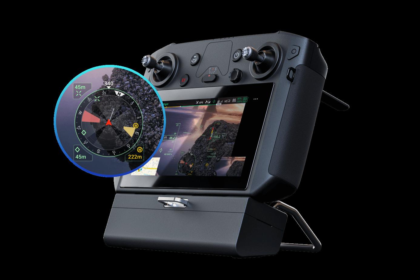 DJI M300 RTK Navigation Display