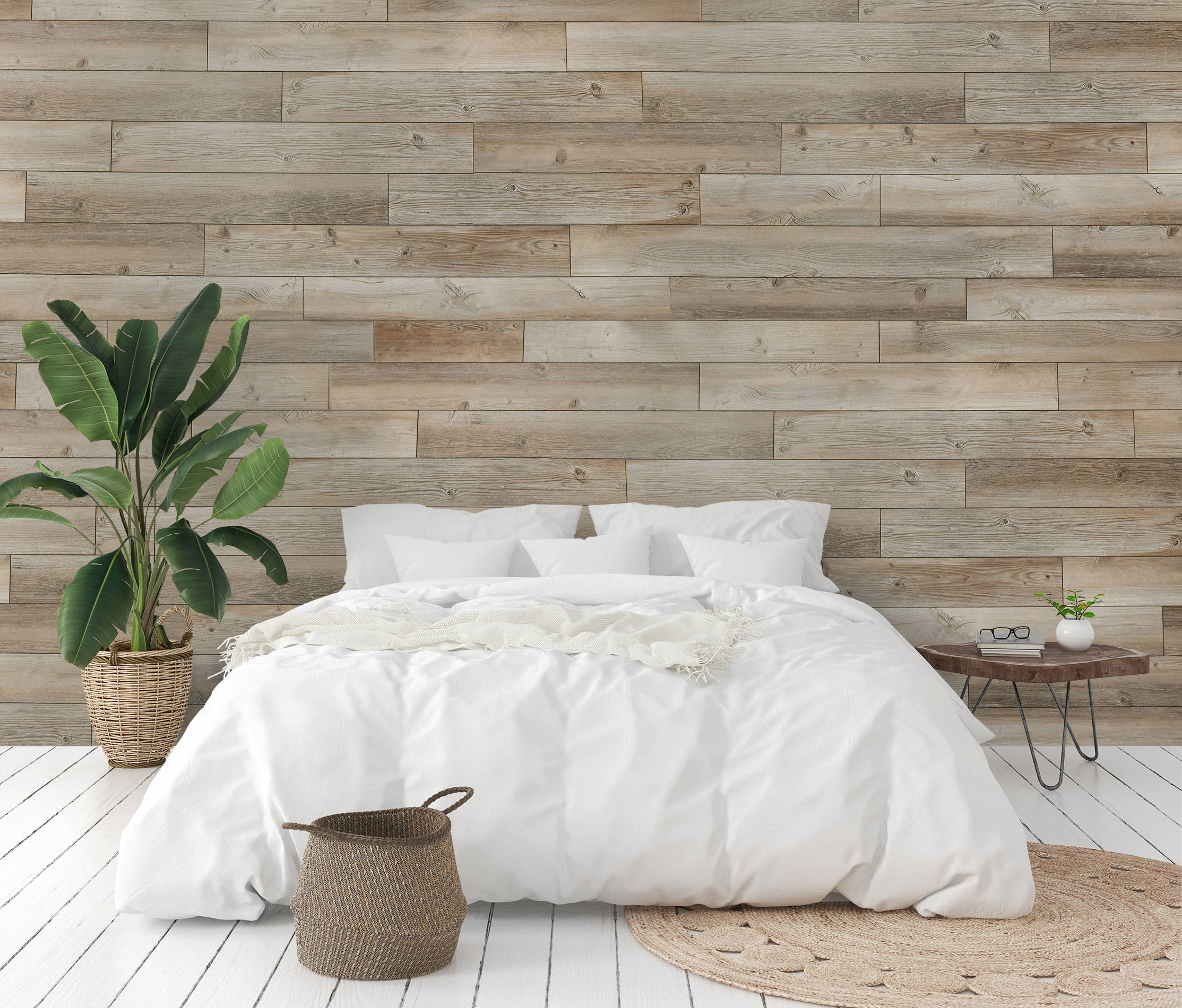 Where to Put a Wood Plank Accent Wall in Your Home