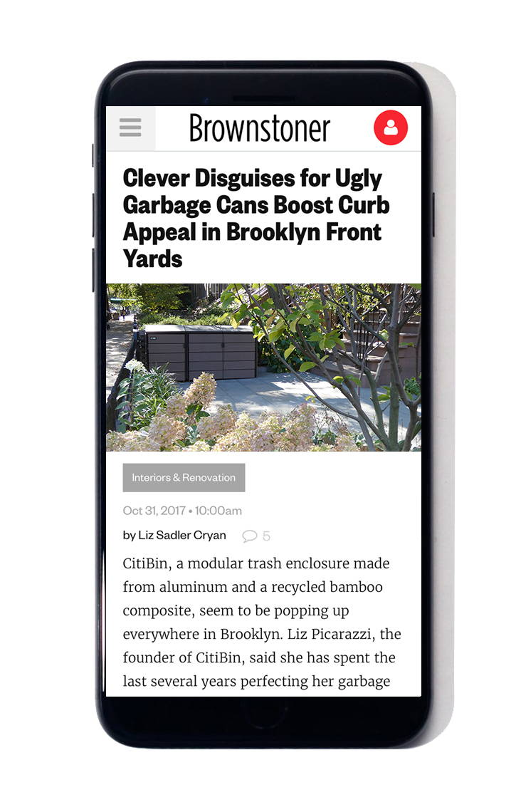 citibin trash enclosure brownstoner