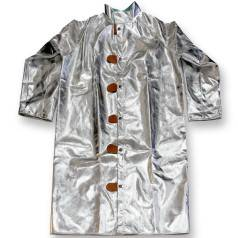 Aluminized Coveralls for Foundry Workers from X1 Safety