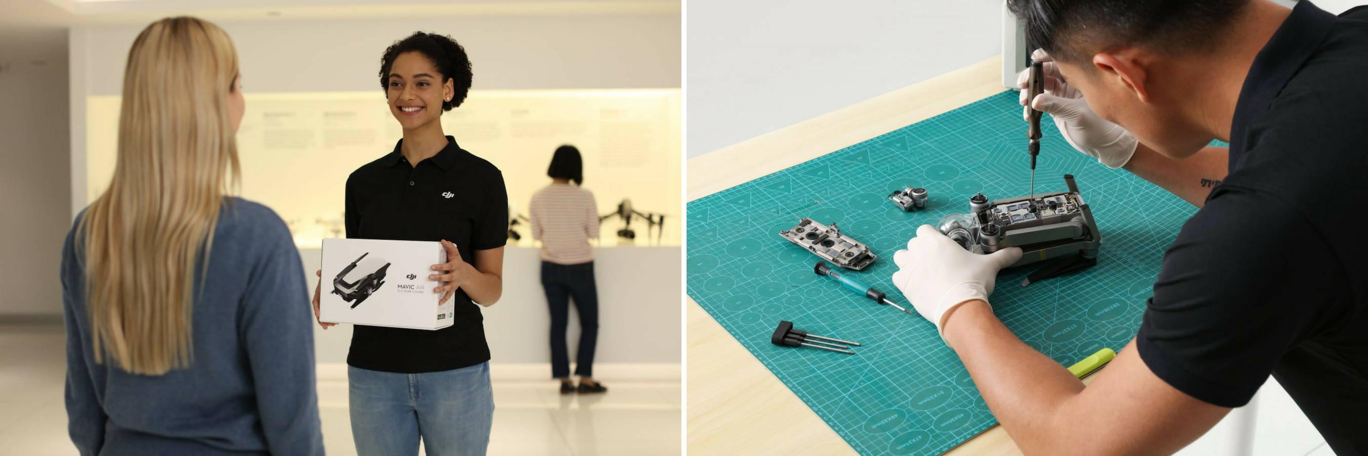 dr drone repair services | dji drones canada