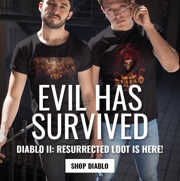 Evil Has Survived: Shop Diablo II: Resurrected