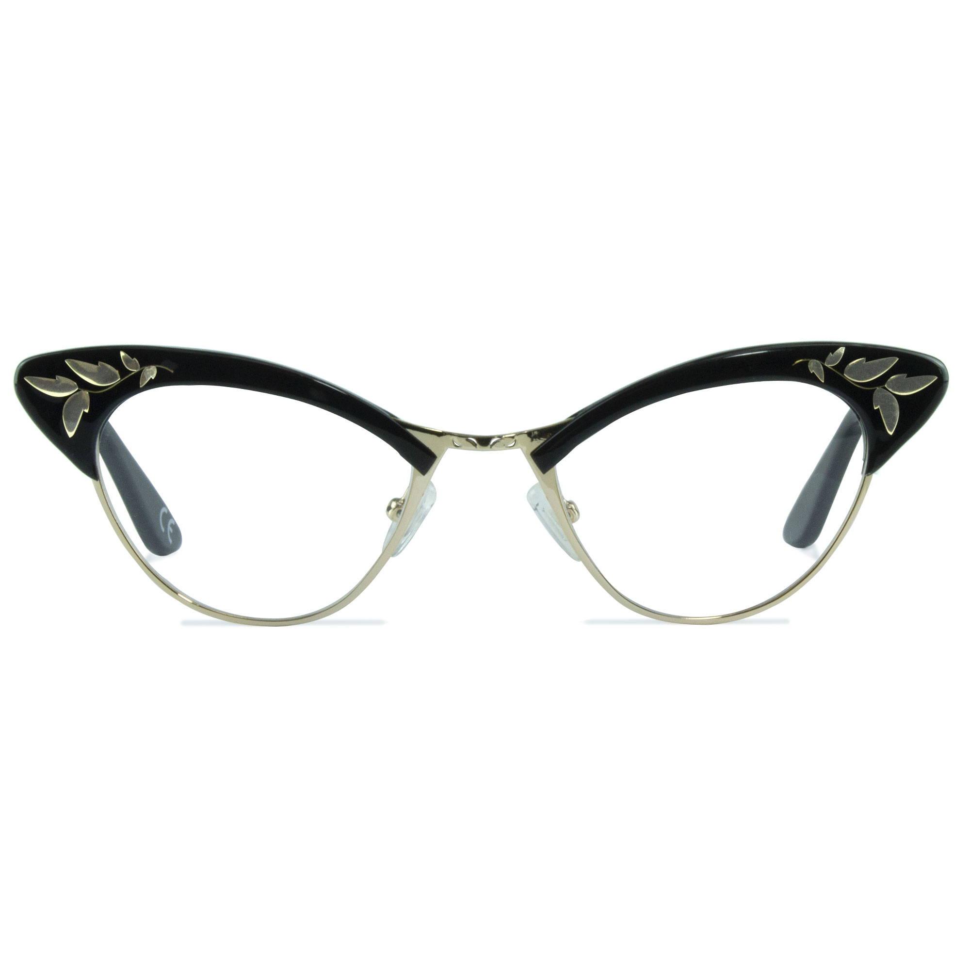 Joiuss rita black cat eye glasses