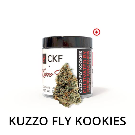 CKF Cherry Kola Farms Artist Collaboration Series Kuzzo Fly Kookies