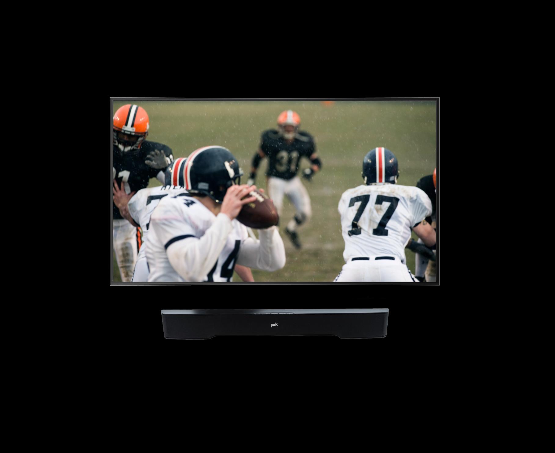 Footbal on TV