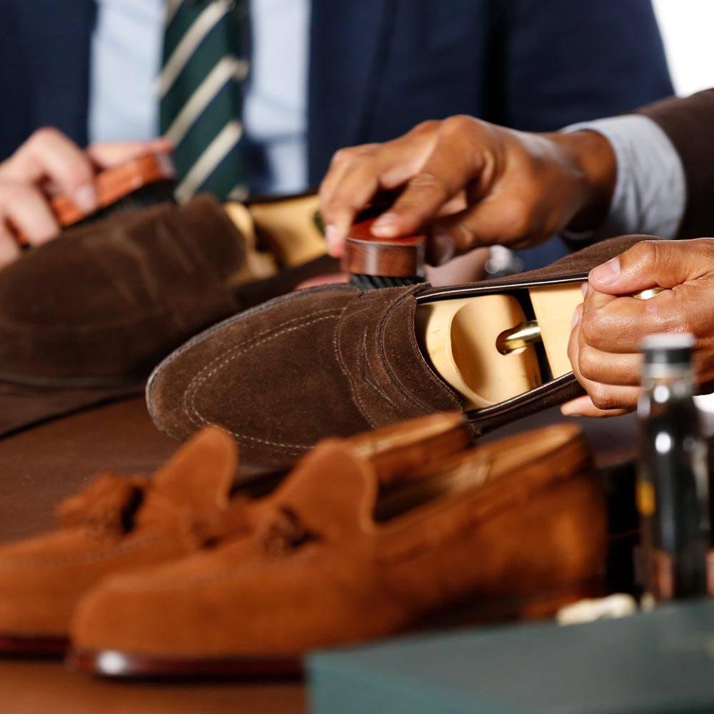 Suede Shoe Care