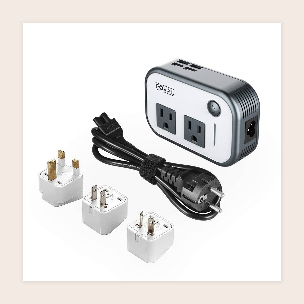 electric converters and power strip