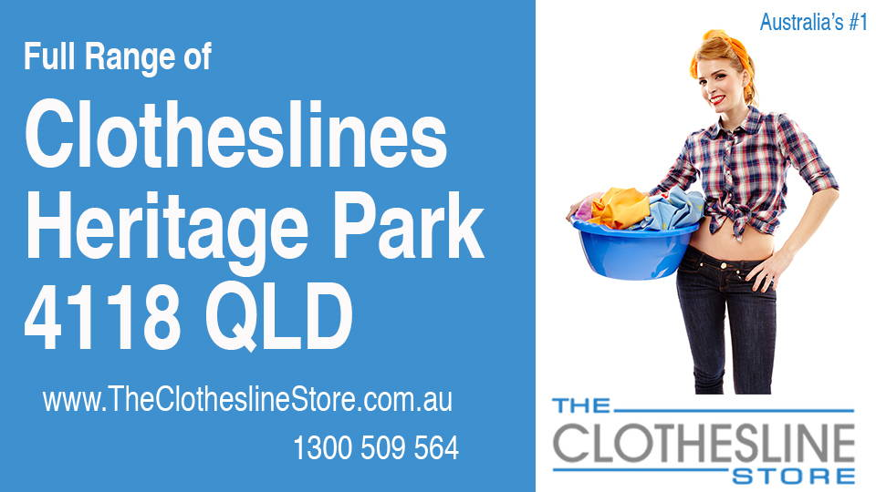 New Clotheslines in Heritage Park Queensland 4118