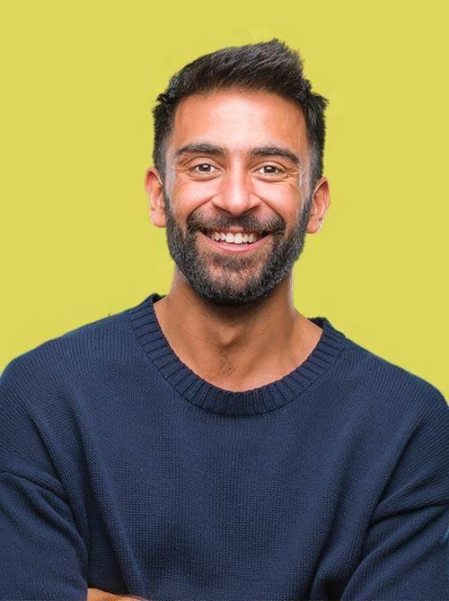 Image Of Man With Beard