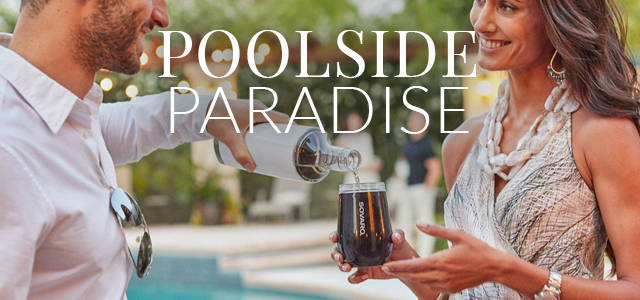 Poolside Paradise: Chase Lounges, Pool Floats & Umbrellas