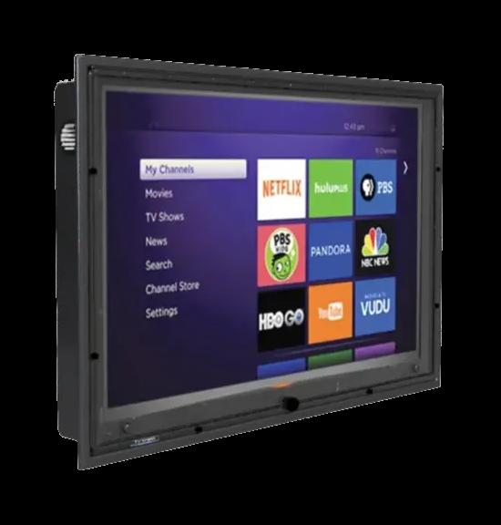 The TV Shield weatherproof Plasma TV cabinet