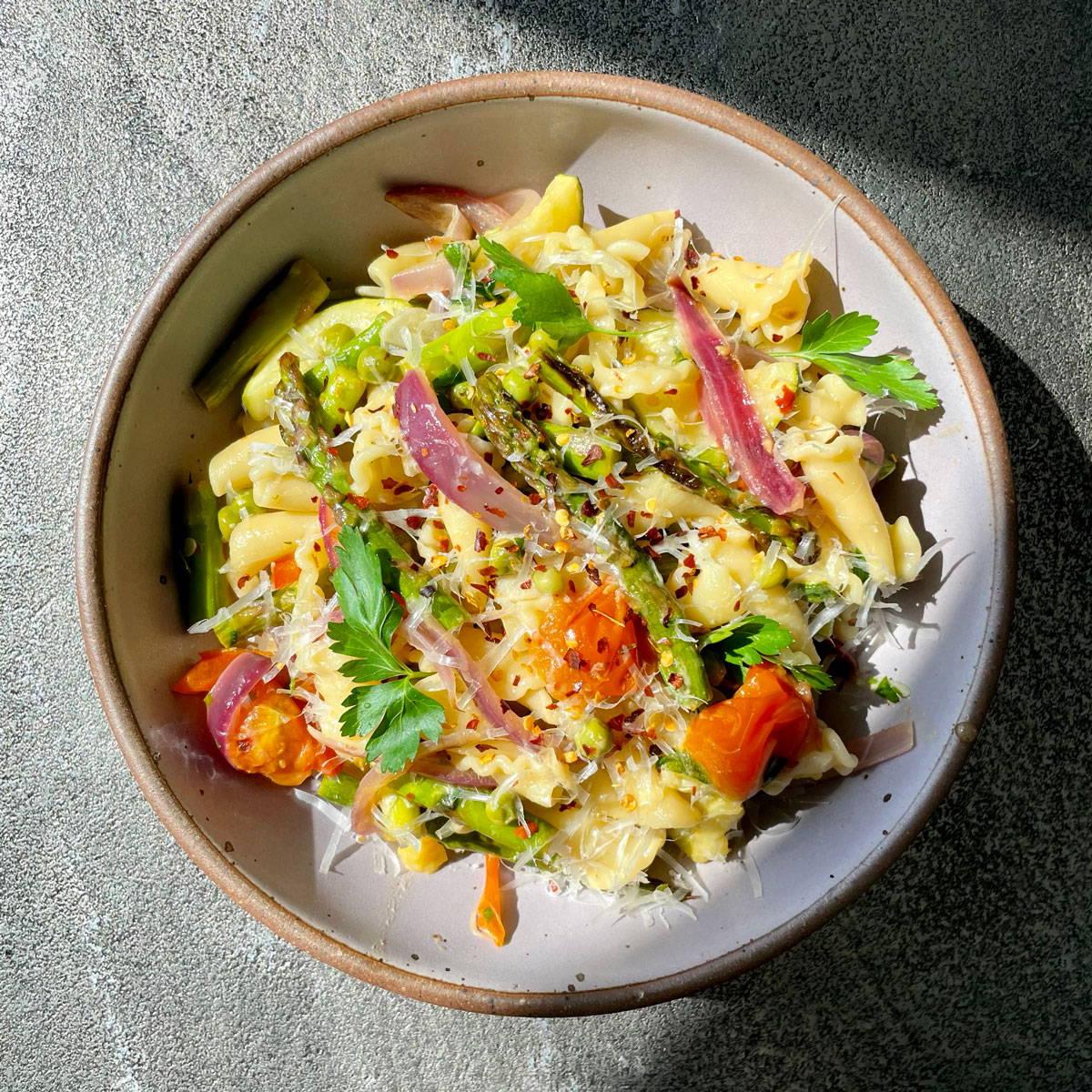 Zaynab Issa's Pasta Primavera recipe for East Fork
