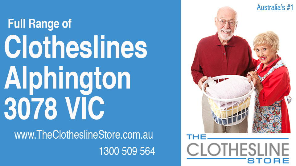 New Clotheslines in Alphington Victoria 3078