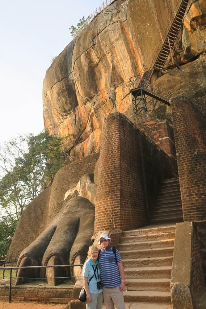 Travelbay Sri Lanka Tours - Customer Reviews - Stuart & Meryl Jones - Sigiriya