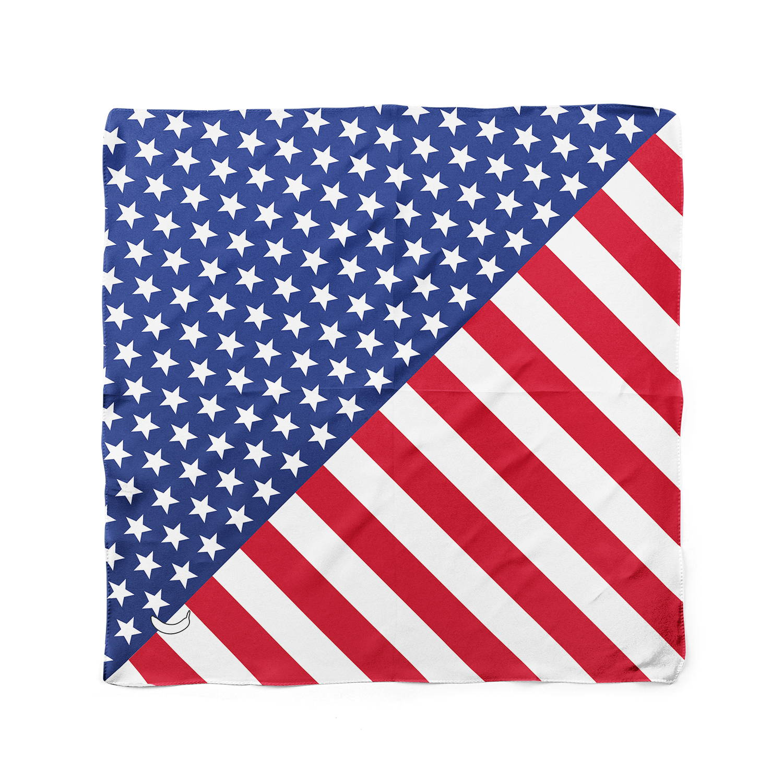 Banana Bandanas American Badass dog bandanas patriotic american dog bandana