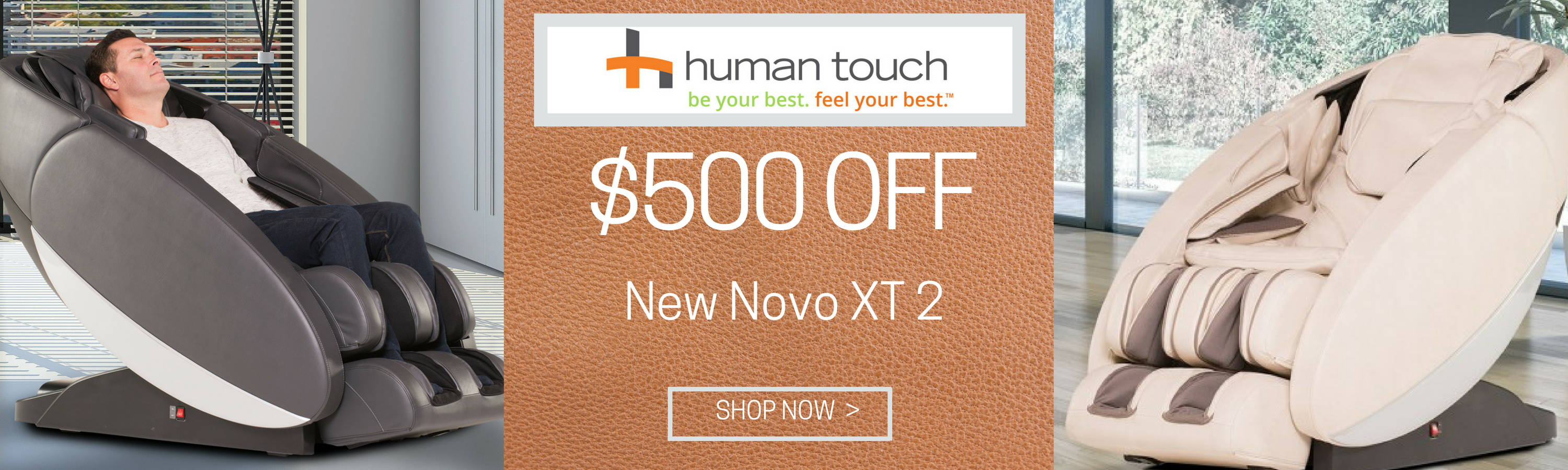 $500 Off Novo XT 2 Massage Chair > Shop Now
