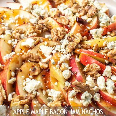 The Nut House Apple Maple Bacon Jam Nachos