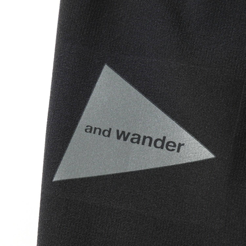 andwander(アンドワンダー)/テックパンツ/カーキ/UNISEX