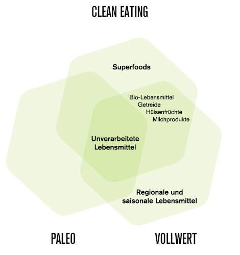Vergleich Ernährungsweisen