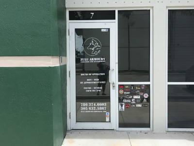 Zulu Armory storefront