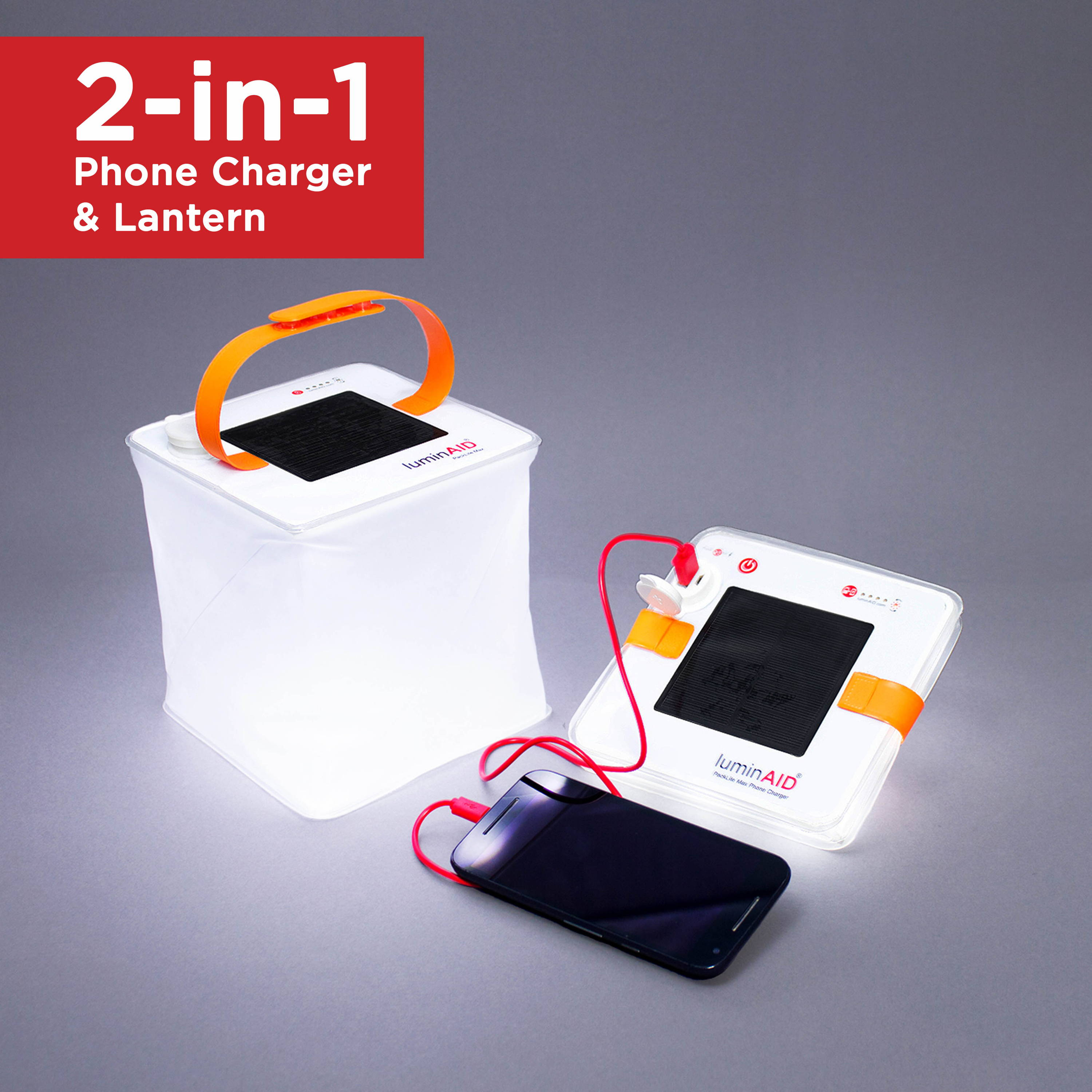 Packlite Max 2-in-1 phone charger.