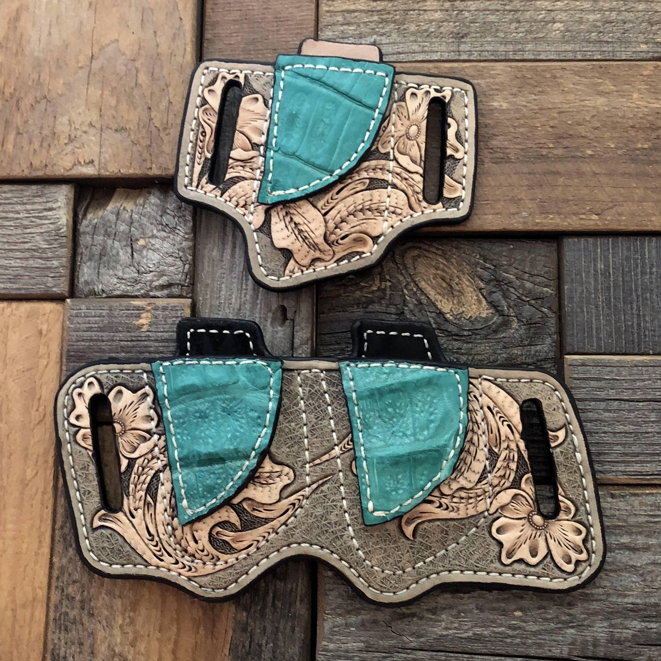 Custom leather holster for