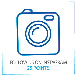 Follow us on Instagram to earn 25 points