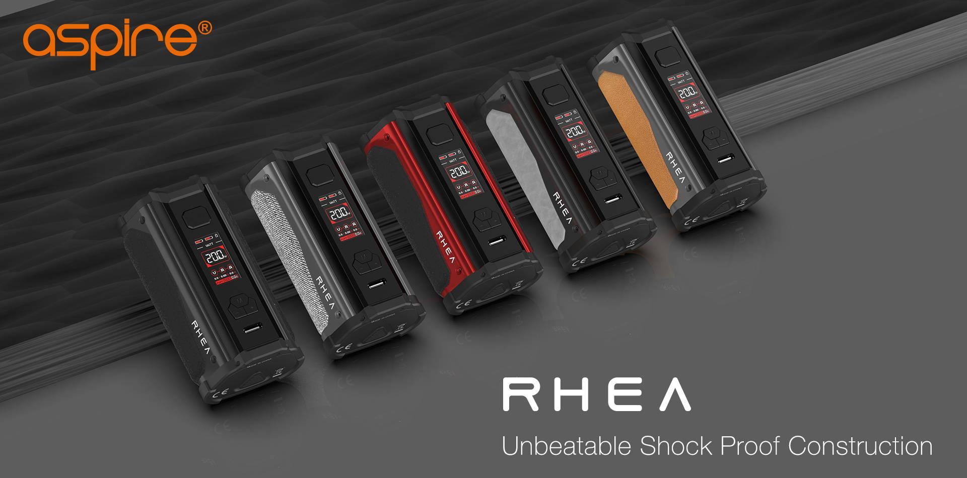 Rhea   Aspire Shockproof   Buy Regulated Vape Mods Online