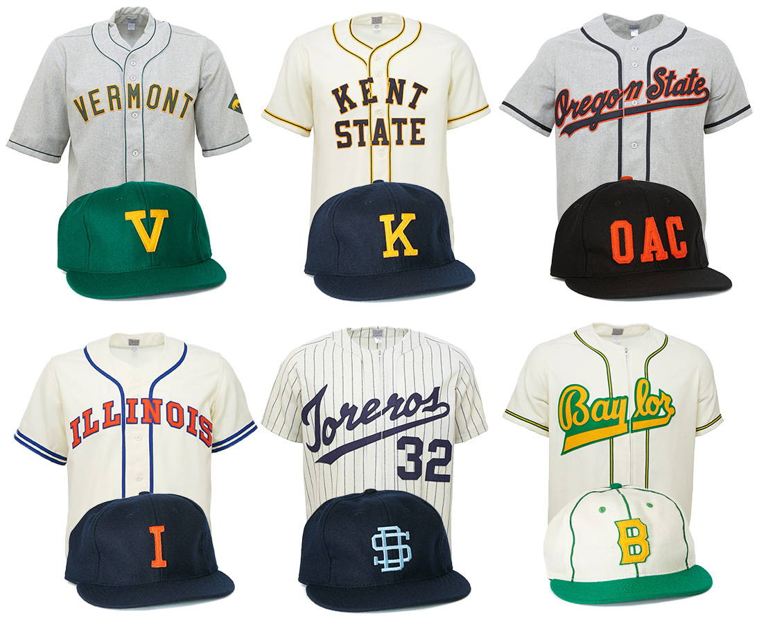 b687e9c74 Ebbets Field Flannels, Vintage Throwback Jerseys, Baseball Caps, Tees