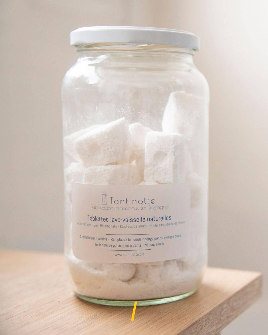 Tablettes lave vaisselle écologiques