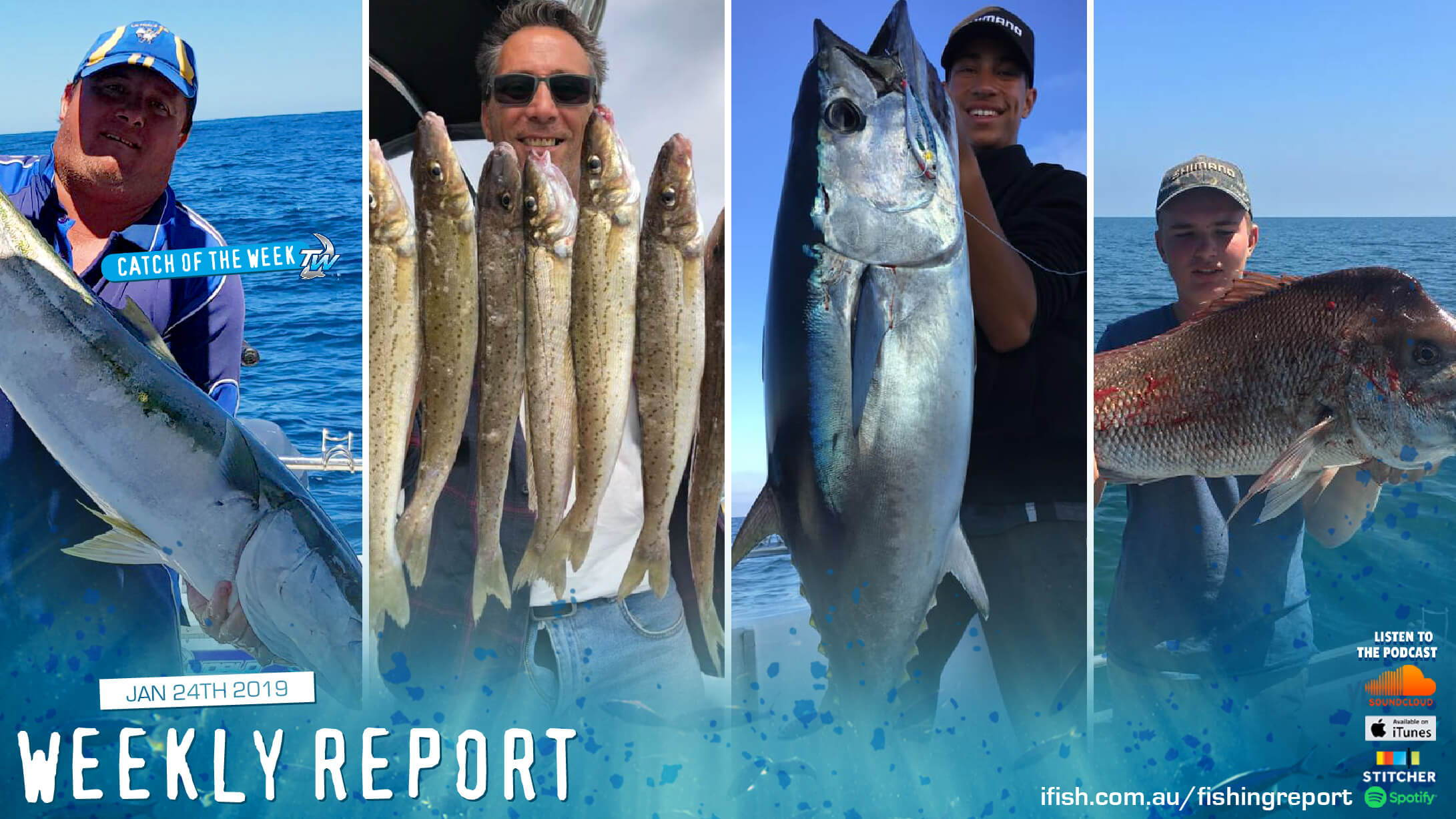 Tackle World Cranbourne & Mornington Weekly Fishing Report For