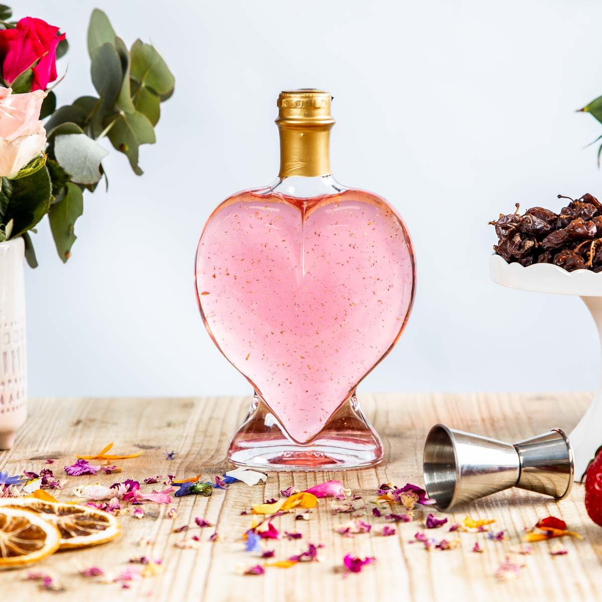 Love Heart Bottle - Flaschengeist
