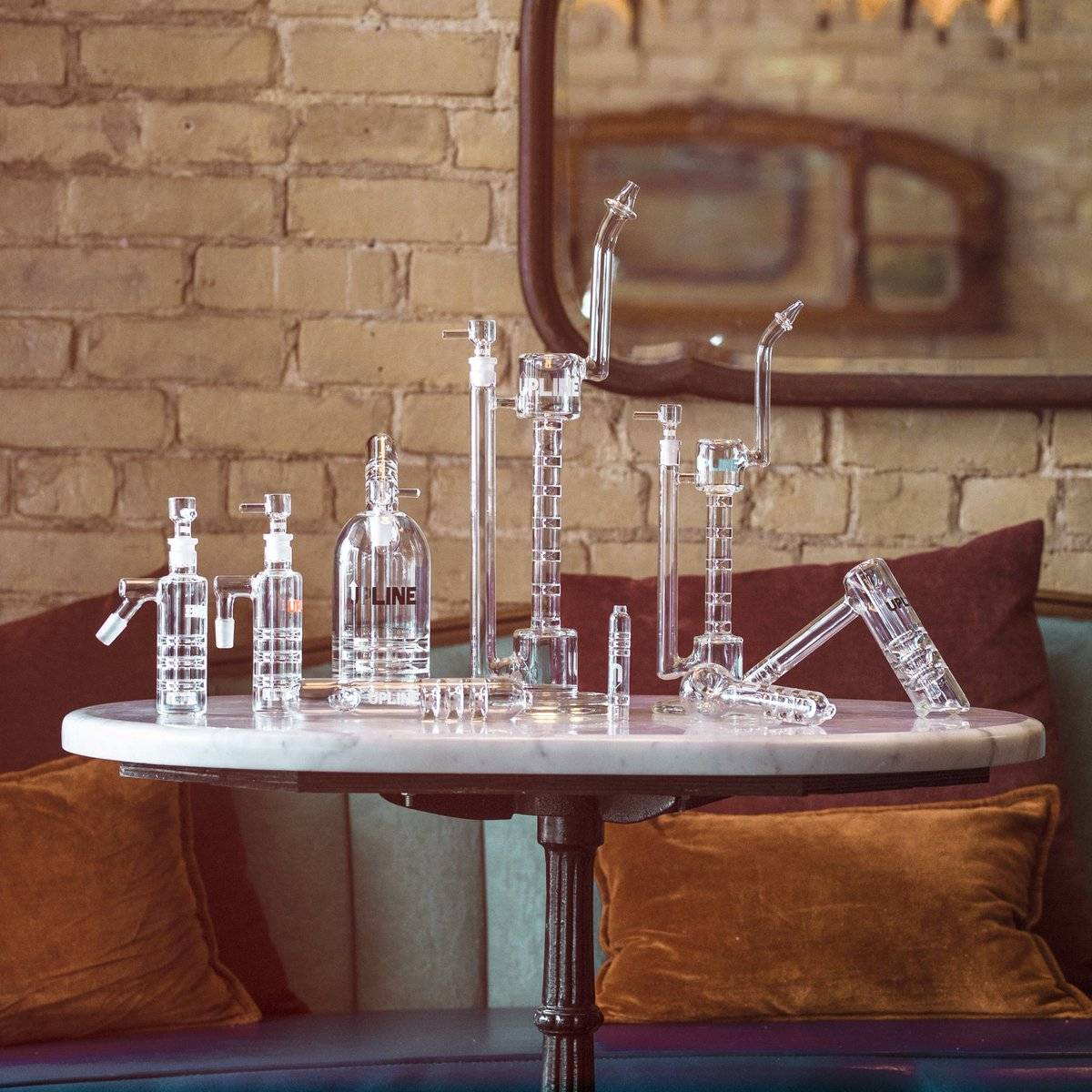 Grav Labs Upline Collection of Bongs and Water Pipes