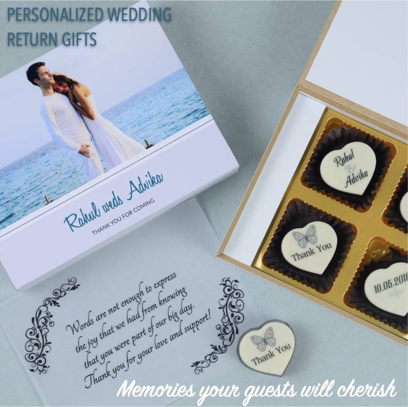 Personalized wedding return Gifts