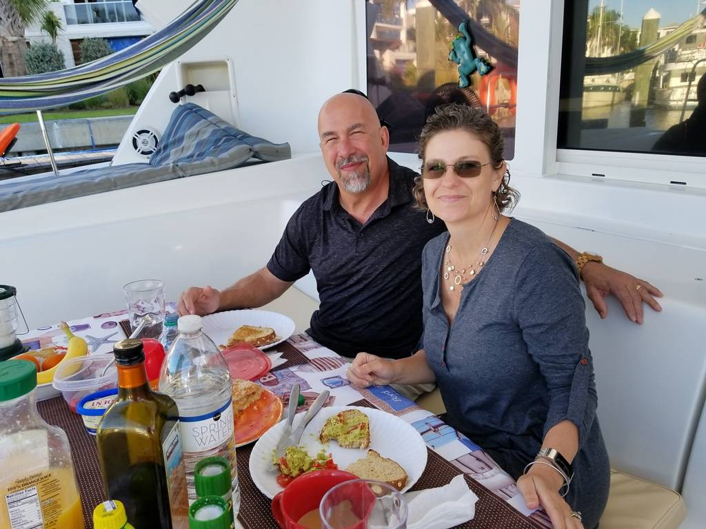 Aboard the Yacht in Jupiter Fl