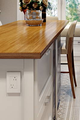 Legrand adorne kitchen outlet example wi-fi outlets