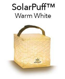 SolarPuff. Portable solar lantern