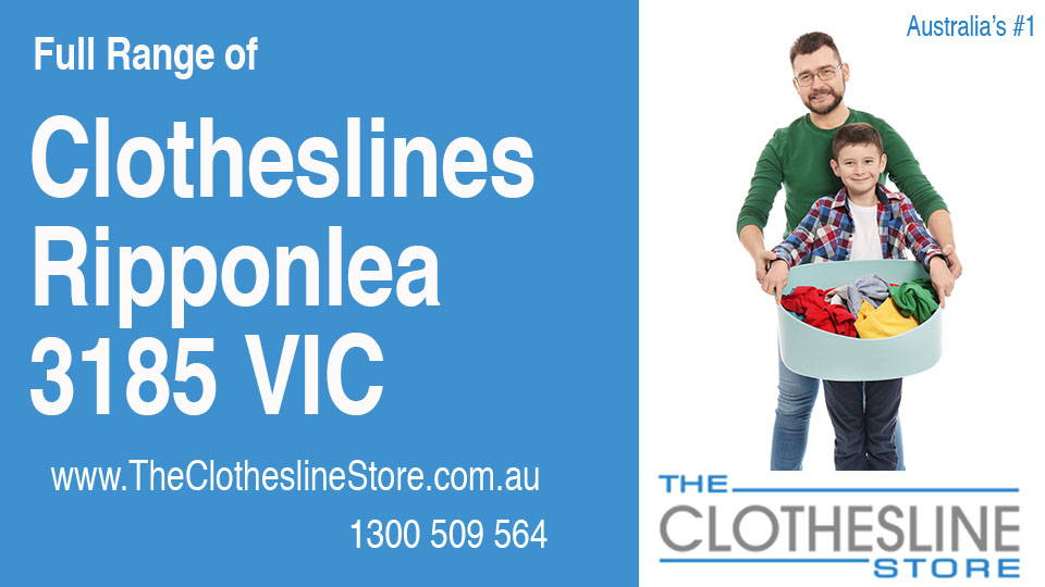 New Clotheslines in Ripponlea Victoria 3185