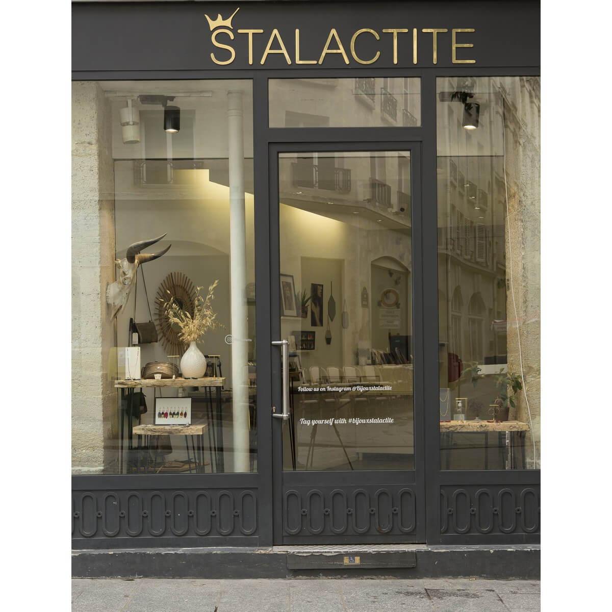Bijoux créateur Paris, Stalactite Paris
