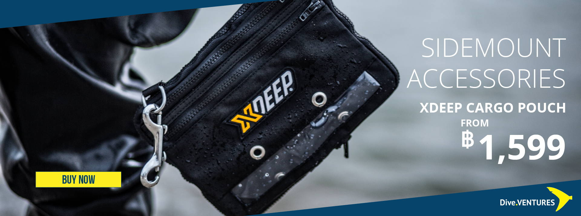 XDeep Cargo Pouch | Dive.VENTURES