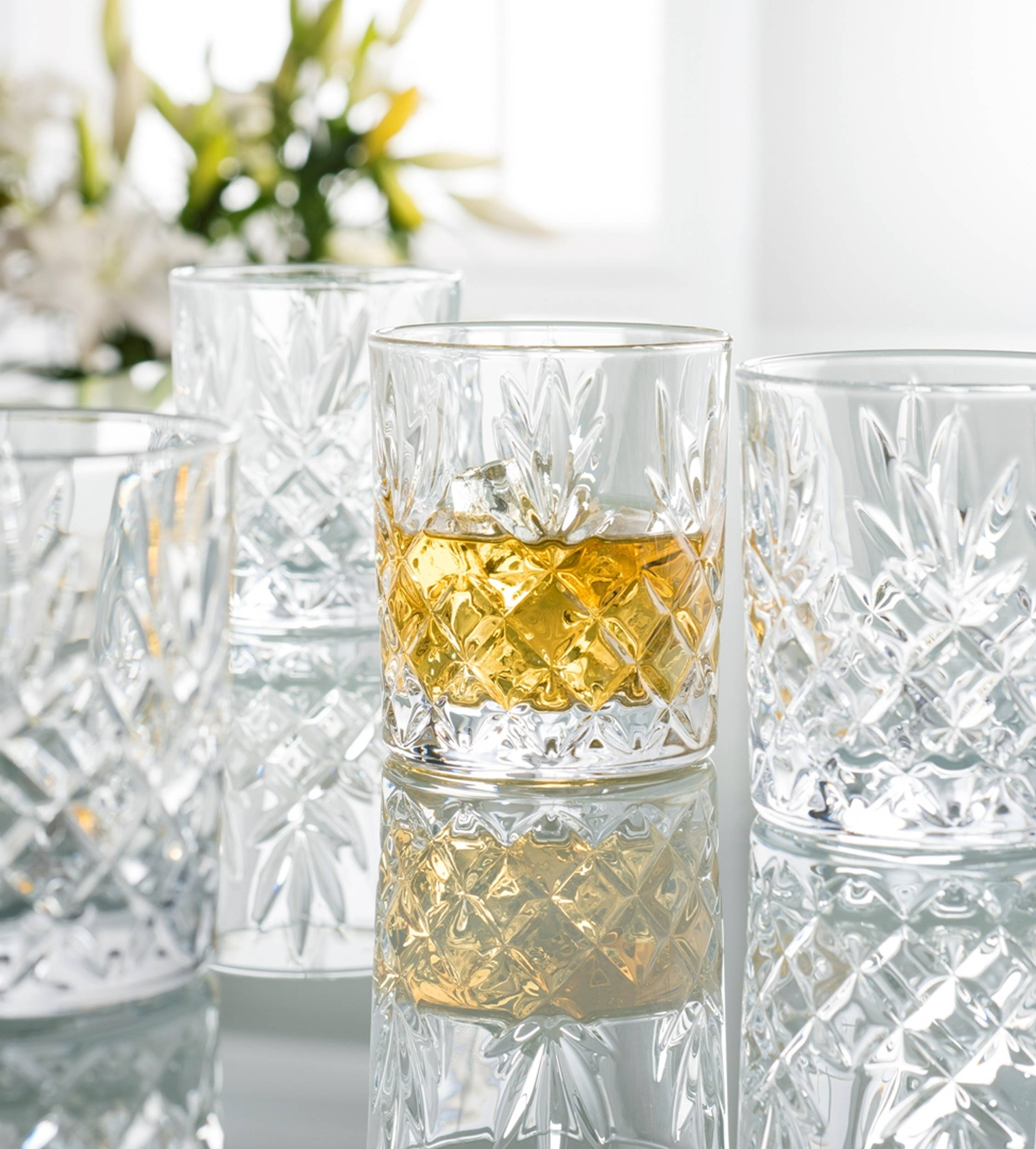 Galway Crystal Whiskey Glass