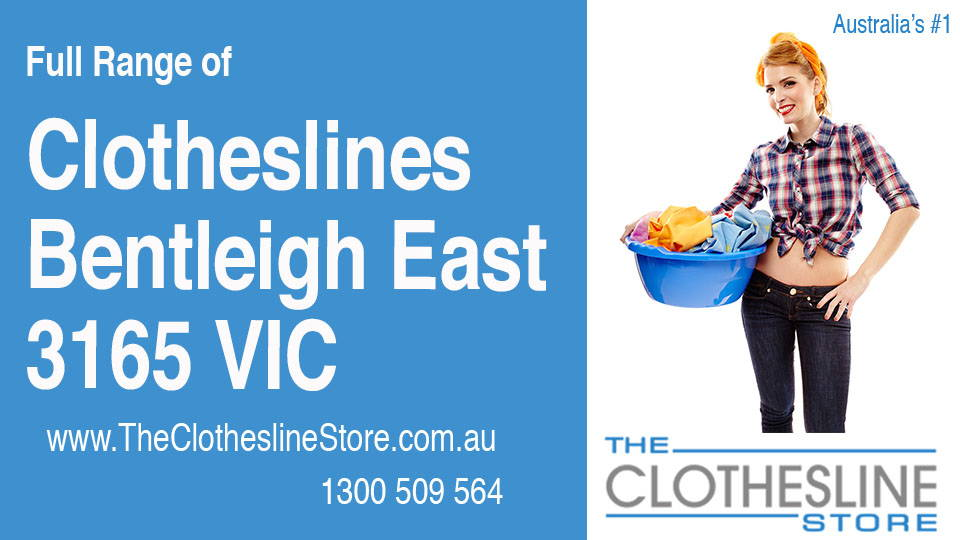 New Clotheslines in Bentleigh East Victoria 3165
