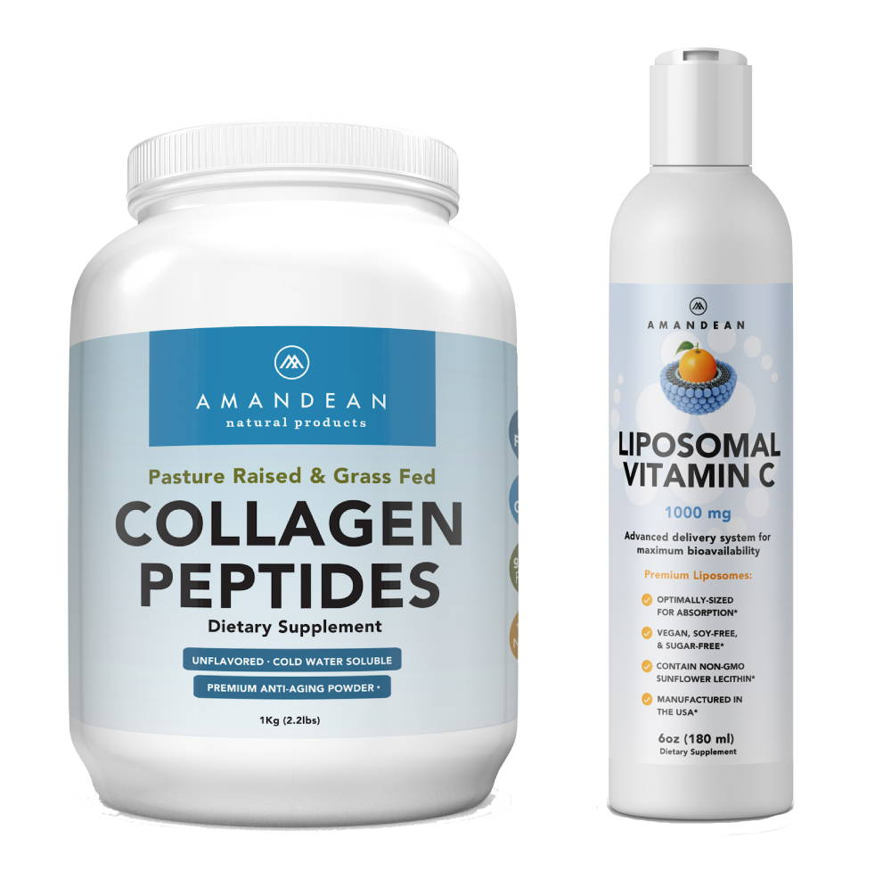 Collagen and Liposomal Vitamin C - A Match Made in Heaven - Amandean