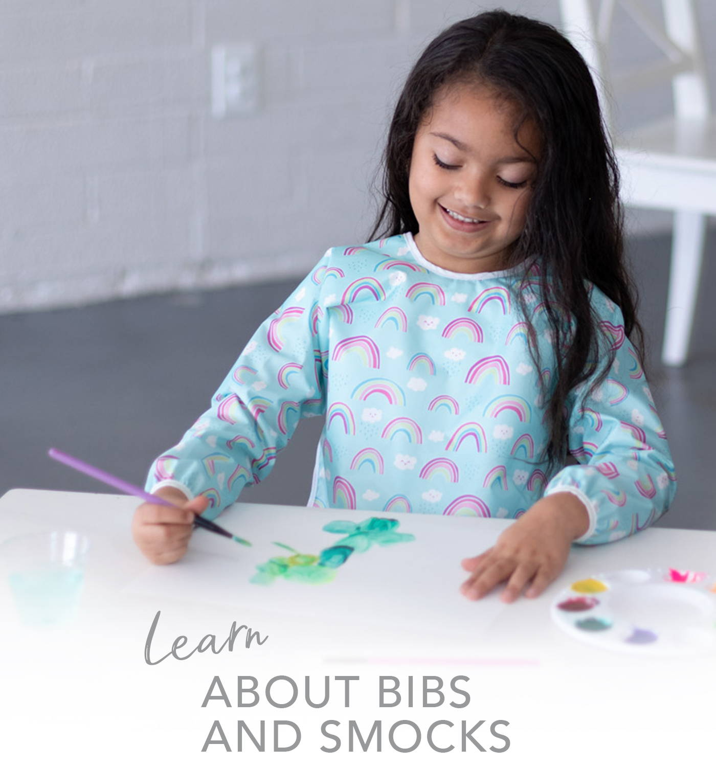 learn about bibs and smocks