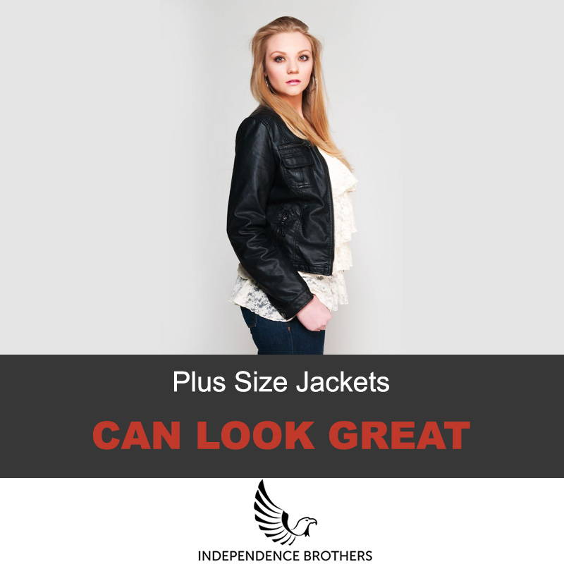 Where to get plus sized leather jackets
