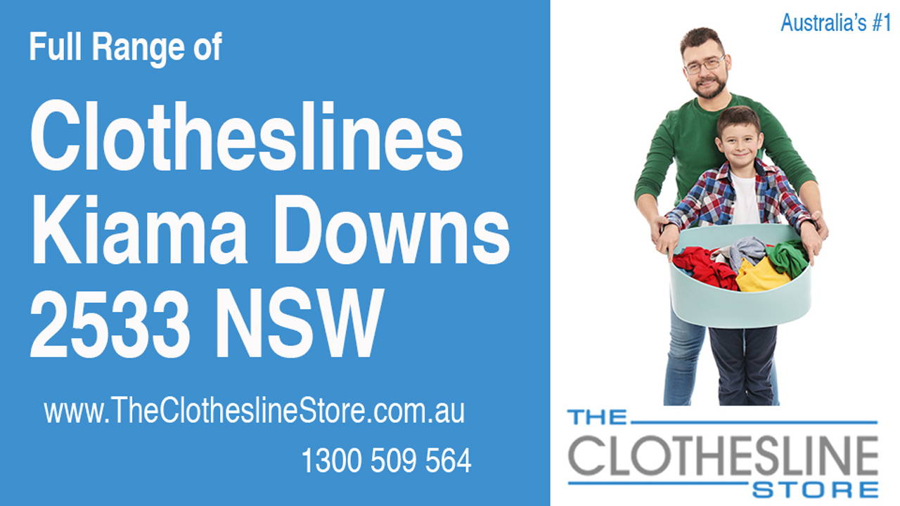 New Clotheslines in Kiama Downs 2533 NSW