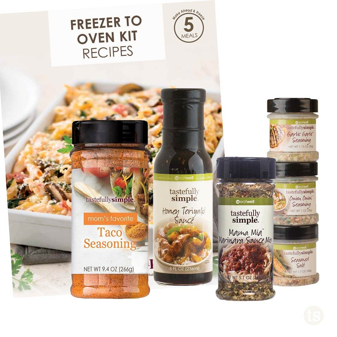 freezer to oven 5-meal kit